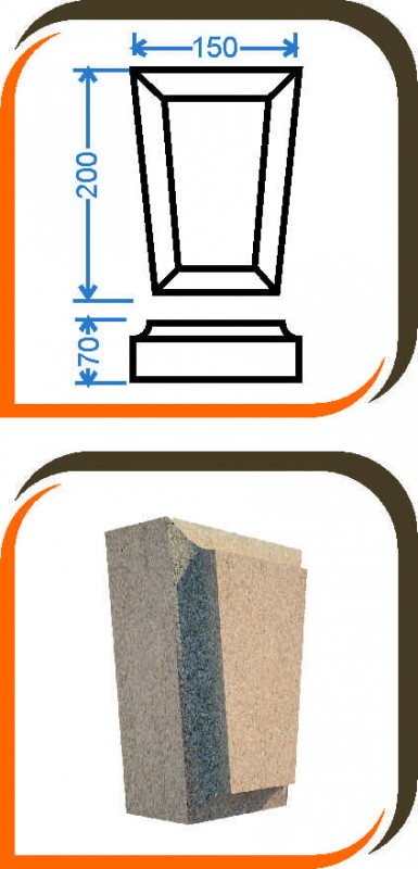 Замковый камень-003