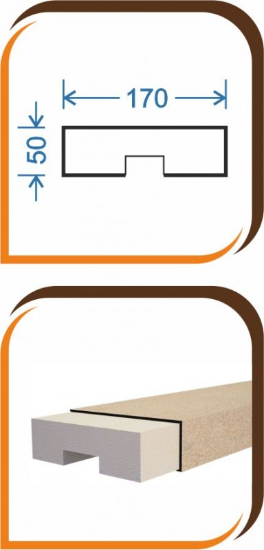Основание балюстрады ОБ-002