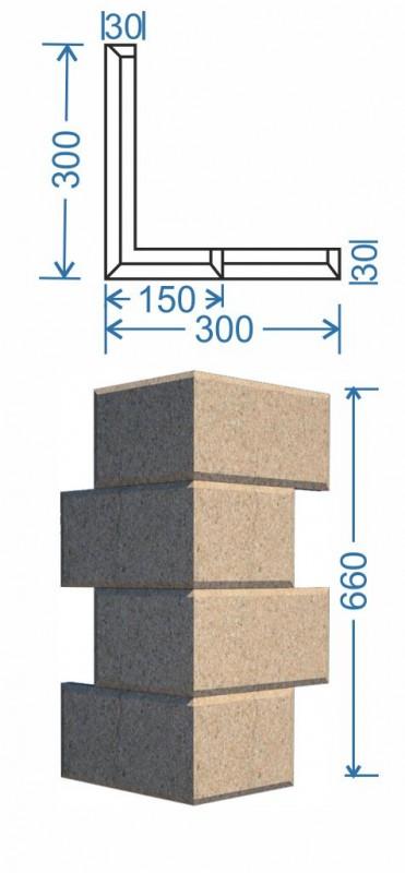 Угловой элемент Б-008